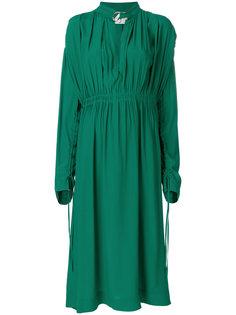 платье с присборенной талией  Cédric Charlier