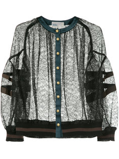 sheer buttoned blouse Kolor