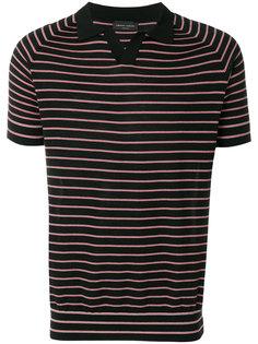 рубашка-поло в полоску Roberto Collina