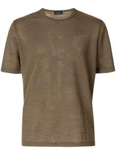 структурированная футболка Roberto Collina