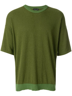 футболка в стиле оверсайз Roberto Collina
