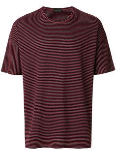 футболка в полоску Roberto Collina