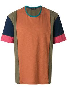 лоскутная футболка Roberto Collina