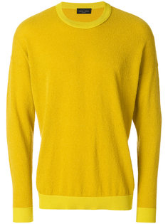 свитер в стиле оверсайз Roberto Collina
