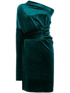асимметричное платье  Norma Kamali