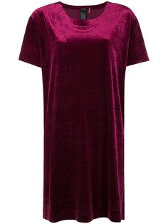 свободное платье-футболка  Norma Kamali