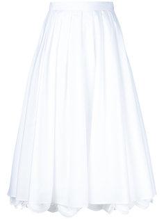 юбка с фигурным краем  Prada
