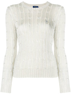 свитер вязки косичкой Polo Ralph Lauren