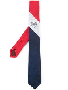 галстук в полоску  Thom Browne