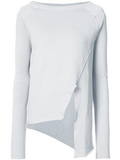 asymmetric sweatshirt Frank & Eileen