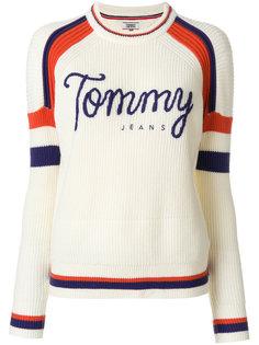 свитер в бейсбольном стиле  Tommy Hilfiger