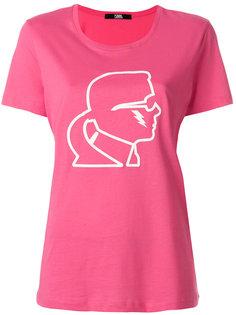 футболка с принтом Karl Karl Lagerfeld
