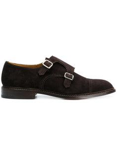 туфли-монки с двумя пряжками  Trickers Trickers
