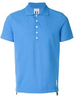 футболка-поло на пуговицах Thom Browne
