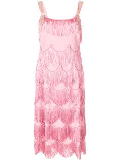 платье с бахромой  Marc Jacobs