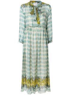платье шифт с вышивкой  Forte Forte
