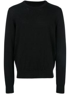 contrast elbow-patch sweatshirt Maison Margiela