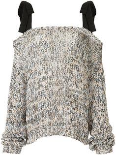 свитер с бретельками  Rochas