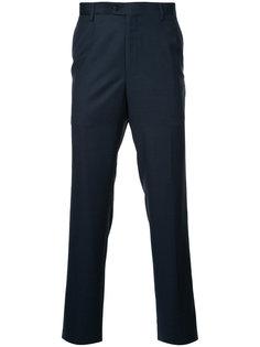 классические брюки узкого кроя Gieves & Hawkes