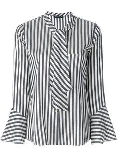 полосатая рубашка с завязками  Etro