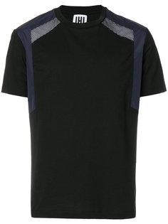 mesh panel T-shirt  Les Hommes Urban