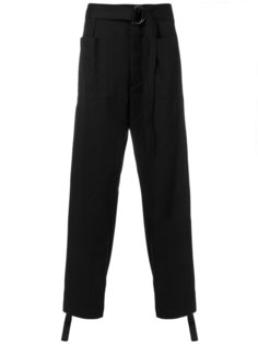 брюки с поясом Jil Sander
