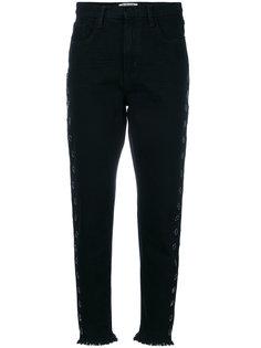 джинсы с люверсами One Teaspoon