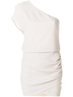платье на одно плечо Davov Iro
