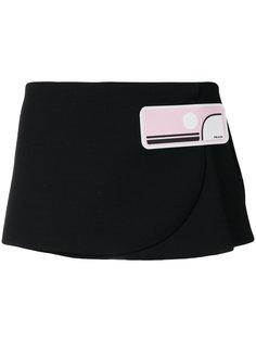 юбка с запахом  Prada