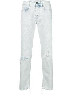 джинсы Ricos с рваными деталями Pence