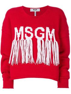 свободный джемпер  MSGM