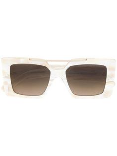 солнцезащитные очки в массивной квадратной оправе Cutler & Gross