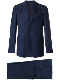 деловой костюм в полоску  Giorgio Armani