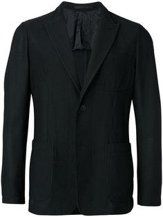 сетчатый пиджак Giorgio Armani