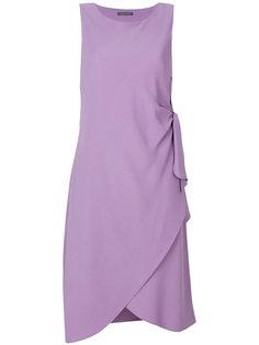 платье с узлом Alberta Ferretti