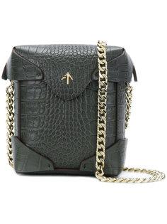 сумка Pristine с цепочной лямкой Manu Atelier