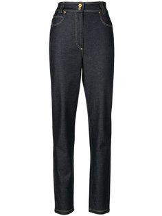 джинсы с высокой талией Versace