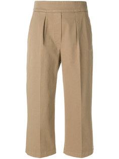 укороченные брюки  со складками  Fabiana Filippi