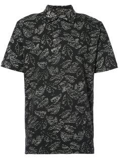leaf print shirt Michael Bastian