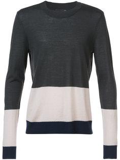 stripe panel sweater Atm Anthony Thomas Melillo
