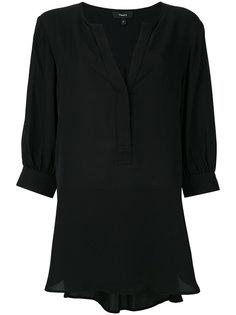 блузка с открытым передом Theory