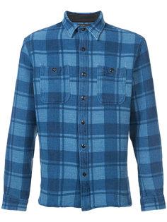 long sleeve plaid shirt Rrl