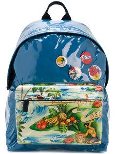 рюкзак с Гавайским принтом Dsquared2