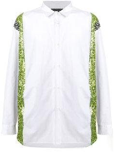 свободная рубашка с контрастными панелями Comme Des Garçons Homme Plus