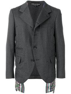 panel detail suit jacket Comme Des Garçons Homme Plus