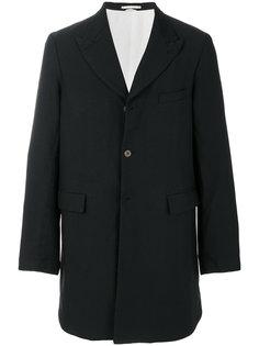 single-breasted coat Comme Des Garçons Homme Plus