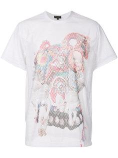 toy print perforated T-shirt Comme Des Garçons Homme Plus