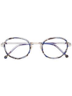 tortoiseshell effect glasses Cutler & Gross