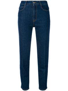 джинсы слим с завышенной талией  Stella McCartney