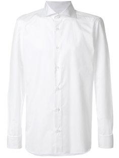 классическая приталенная рубашка Borrelli